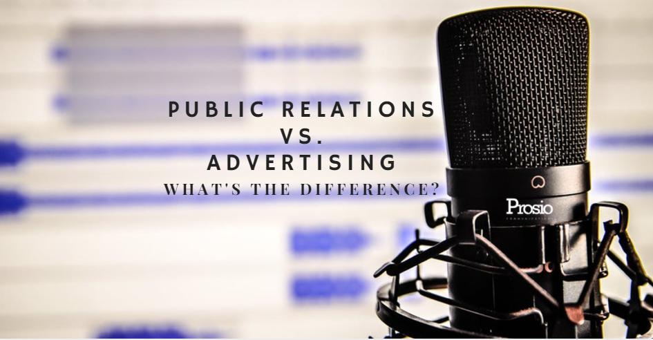 Public Relations v Advertising